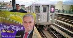 DE LA ZANJA : Arrancó la campaña a favor de Tony Vargas en New Y...