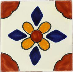mexican tile for our table