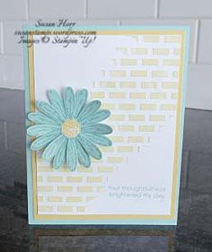 Daisy Delight & Embossing Paste |