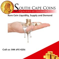 Rare coins, as opposed to gold bullion coins, aren't ever reminted, which means that this exclusive market revolves entirely around the availability, liquidity, supply and demand of coins that have already been produced. For more click here: http://on.fb.me/1npFuTK For more information: info@southcapecoins.co.za #coins, #investment, #rarecoininvestment