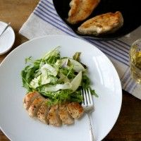 Roast Trout and Vegetables with Horseradish Vinaigrette - Bon Appétit