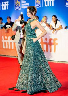 Shailene Woodley attends the 'Snowden' premiere during the 2016 Toronto International Film Festival at Roy Thomson Hall on September 9, 2016 in Toronto, Canada.