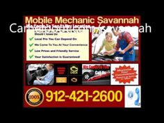 Mobile Mechanic Savannah, Georgia Auto Car Repair Service