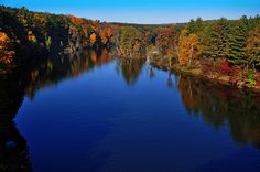 Fall on the Muskegon River
