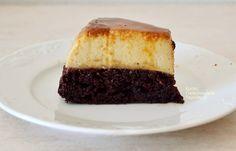 Κέικ σοκολάτας με κρέμα καραμελέ (VIDEO) - cretangastronomy.gr Cheesecake, Chocolate, Desserts, Food, Tailgate Desserts, Deserts, Cheesecakes, Essen, Chocolates