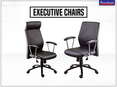 These #ExecutiveChairs come with head rest option and are thoughtfully designed to give maximum rest to your back. In other words, this series is what turns on the next generation entrepreneurs.