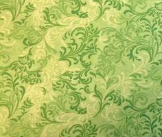 Wilmington Prints ESSENTIALS - FANTASY SCROLL (Spring) Premium Quality 100% Cotton Fabric - Per 1/2 yard