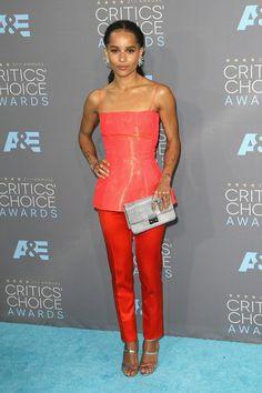 Zoe Kravitz in Dior Haute Couture