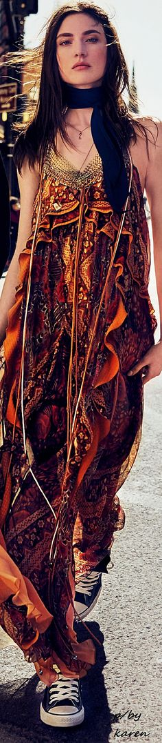 Boheme - Jacquelyn Jablonski by Miguel Reveriego for Glamour US