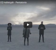 The version of hallelujah that got 1.6 million views in just 24 hours