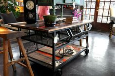 This cart, work table is amazingly cool!