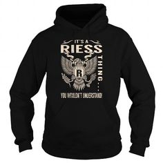 I Love Its a RIESS Thing You Wouldnt Understand - Last Name, Surname T-Shirt (Eagle) Shirts & Tees