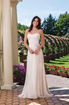 Style 3920, Sincerity Bridal.