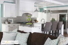 Dramatic Kitchen Makeover Reveal~Before and After