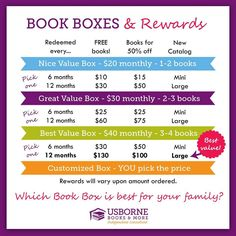 Get rewarded when you join the Book Box Club for Kids! Great books delivered monthly!