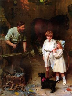 Pinturas de Arthur John Elsley!