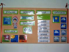 Calendar by Sucika School Classroom, Classroom Decor, Classroom Organization, Back To School, Diy And Crafts, Kindergarten, Calendar, Seasons, Teaching