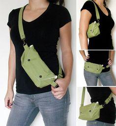 It's a bag, it's a purse, it's a FANNY PACK! Inspiration: no instr.