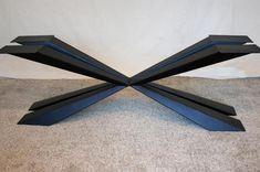 Monkey Pod Slab Table Top with art metal base Counter Top Sink Bathroom, Slab Table, Metal Fabrication, Houzz, Blacksmithing, Metal Art, Ceiling Fan, Metal Working, Craftsman