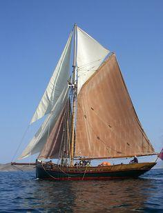 incredible sail boat