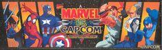 Marvel vs Capcom: Clash Of the Super Heroes (Marquee) (Capcom)