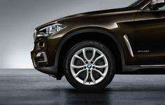 BMW X6 (F16), Winter complete wheel sets, 19'' V-spoke Styling 594