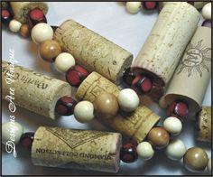 Wine cork garland!