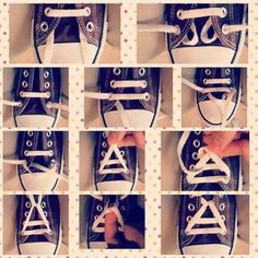 How to do a perfect triad with our shoe laces