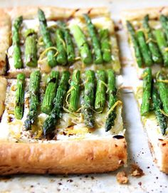 Asparagus, Spring Onion and Fontina Tart March 18, 2015 5 Comments