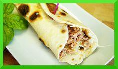 Tortilla Wraps selber machen - Rezept