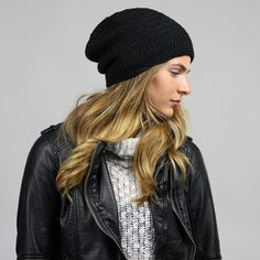 Womens Slouchy Beanie - The Beeskie - King & Fifth Supply Co.