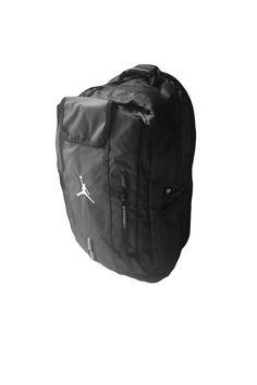 b53346b8490e NIKE AIR JORDAN ELITE JUMPMAN BACKPACK BLACK 9A1641 023 School Bag Book Bag  New