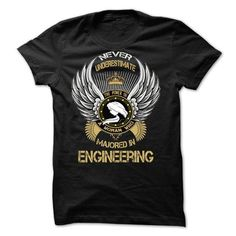 Majored In Engineering - Hot Trend T-shirts