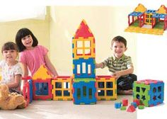 Weplay Blocks Minis And Cube 46 Pieces