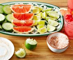 Today tequilas are as elegant and varied as fine scotches.   Set up an interactive tasting station at your party where guests can sample an array of reposados, blancos, and añejos. Extras such as citrus wedges, fresh cucumber slices, and Himalayan pink salt are palette cleansers that enhance the experience.