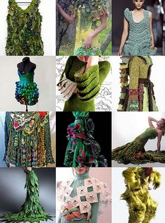 green wearable art check out coolclimates on flickr
