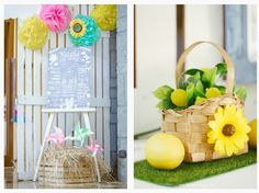 """Lia's """"You are My Sunshine"""" Themed Party – Entrance details"""