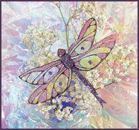 Beautiful Film Dragonfly to make using Fantasy Film