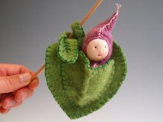 spring leaf baby by EvesLittleEarthlings on Etsy, $26,00