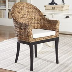 Two end accent dining chairs. Ackerman Arm Chair