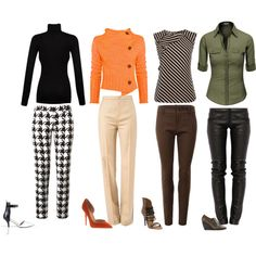 """""""Pant Looks"""" by parkerl-carolyn on Polyvore"""
