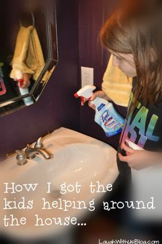 How one mom got her children helping around the house.