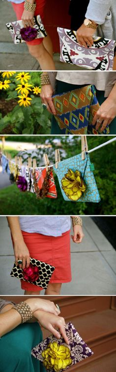 #Roeho #handmade #clutches