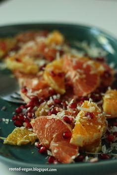 little things are big: Vegan Recipe: Summer Citrus Salad