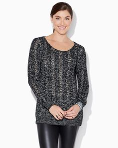 Madonna Loose-Knit Sweater | Fashion Apparel & Tops - Luxe Rock | charming charlie
