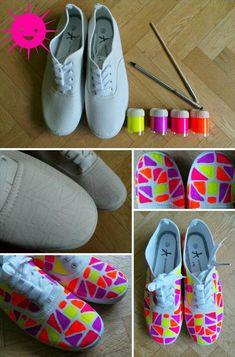 DIY Pimp my Shoes Die Schönsten Chucks ever