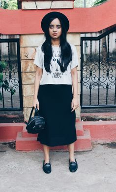 Channelling my inner grunge on the blog.