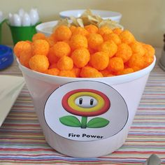 Mario Birthday Party Ideas - awesome food ideas...pretty sure I could use this at an 80s party too