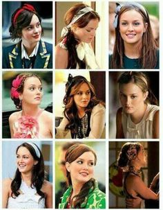 Blair Waldorf's many looks