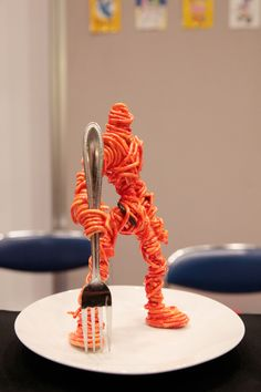 Japanese Spaghetti Warrior Figurine  スパゲティウォリアーフィギュア, Design Festa